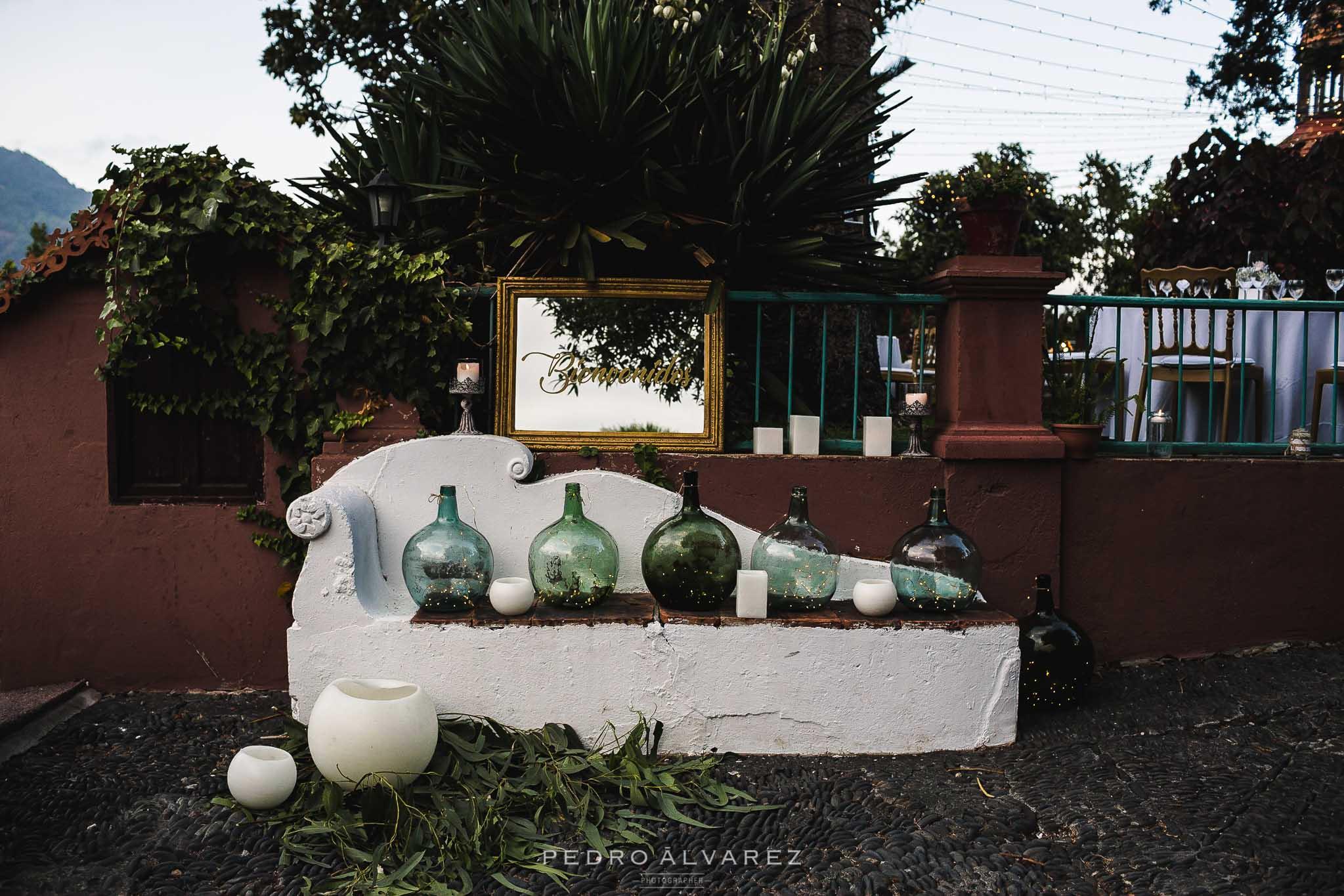 Bodas en La Palma, Canarias. sara Jurado