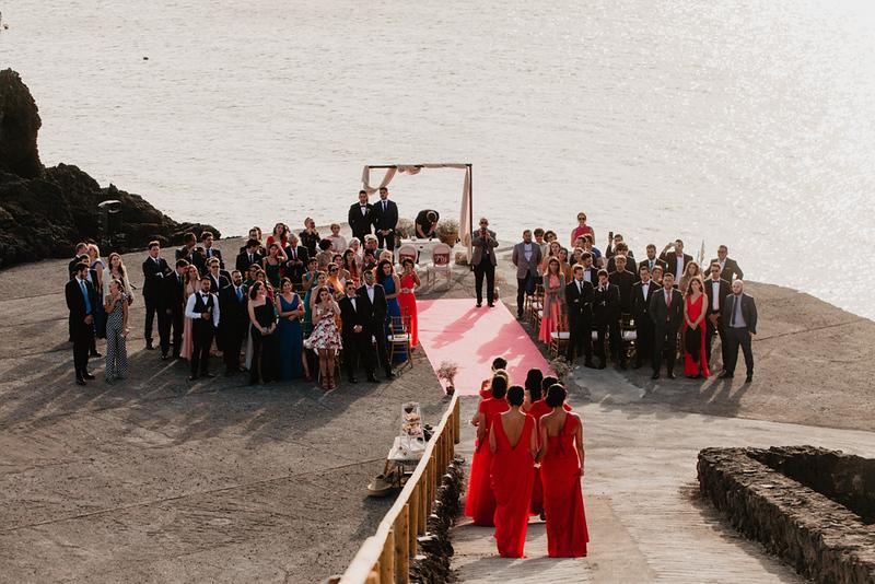 Sara Jurado, bodas en la isla de La Palma